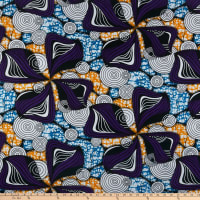 Shawn Pahwa African Print Gcinumuzi Purple/Orange