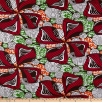 Shawn Pahwa African Print Gcinumuzi Red/Orange