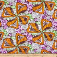 Shawn Pahwa African Print Gcinumuzi Orange/Purple