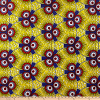 Shawn Pahwa African Print Esasa Yellow/Purple