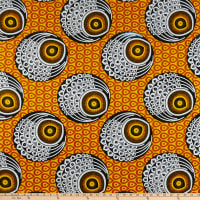 Shawn Pahwa African Print Induna Yellow/Orange