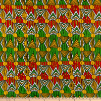 Shawn Pahwa African Print Mzwandile Yellow/Green
