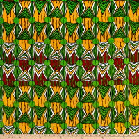 Shawn Pahwa African Print Mzwandile Green/Yellow