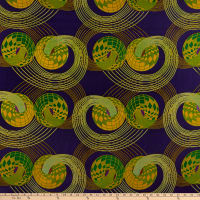 Shawn Pahwa African Print Zibonele Purple/Yellow
