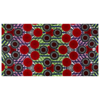 Shawn Pahwa African Print Kgabu Red/Black