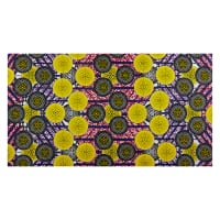 Shawn Pahwa African Print Kgabu Yellow/Black