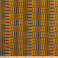 Shawn Pahwa African Print Mapoza Red/Blue
