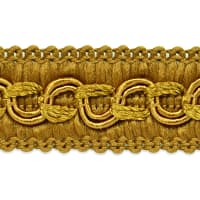 Sheena Woven Circle Braid Trim Gold
