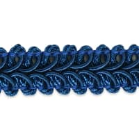 Alice Classic Woven Braid Trim Royal Blue