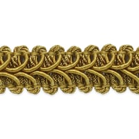 Alice Classic Woven Braid Trim Gold