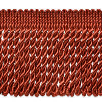 "Cadee 3"" Bullion Fringe Trim Cinnamon"