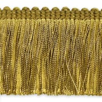 Alina Brush Fringe Trim Gold