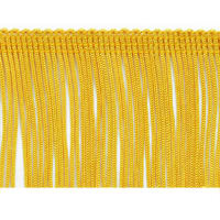 "2"" Chainette Fringe Trim Yellow Gold"