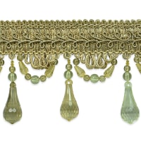 Juliet Beaded Trim Champagne