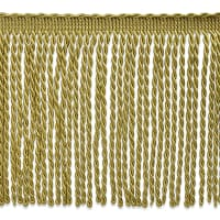 Lettie Skinny Bullion Fringe Trim Gold