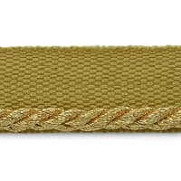 "Saturn 1/8"" Metallic Twisted Lip Cord Trim Metallic Gold"