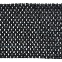"6"" Crochet Stretch Trim Black"