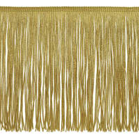 "8"" Chainette Fringe Trim Gold"