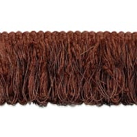 Chenille Loop Fringe Trim Cocoa (Precut, 20 Yards)