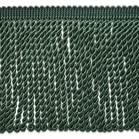 "Riley 5 3/4"" Bullion Fringe Trim Hunter Green (Precut, 10 Yards)"