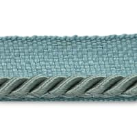 "Ebony 1/8"" Twisted Lip Cord Trim Pewter (Precut, 20 Yards)"