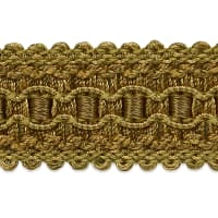 Bella Woven Braid Trim Gold Multi (Precut, 20 Yards)