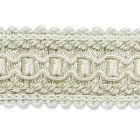 Bella Woven Braid Trim Ivory (Precut, 20 Yards)