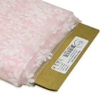 "54"" Daisy Flocked Tulle Fabric (Bolt, 10 Yards) Pink"