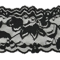 Lace Trim Black (Precut, 20 Yards)