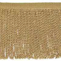 "Zico 9"" Bullion Fringe Trim Gold (Precut, 10 Yards)"