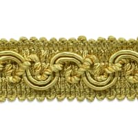 Melrose Scroll Braided Gimp Gold (Precut, 20 Yards)