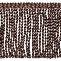 "Riley 5 3/4"" Bullion Fringe Trim Chocolate (Precut, 10 Yards)"