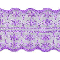 """1 3/4"""" X 20 Yards of Scarlet Lace Trim Purple (3 Pack)"""