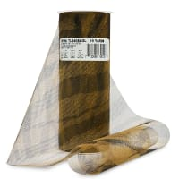"Zebra Print 6"" Tulle (Spool, 10 Yards)    Antique Gold"