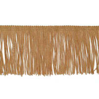 "3"" Chainette Fringe Trim Gold (Precut, 20 Yards)"
