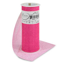 "Glitter 6"" Tulle (Spool, 10 Yards)  Fuchsia"
