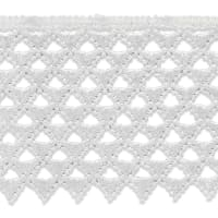 """Extended Magdalena Lace Trim 3"""" Natural (Precut, 14 Yards)"""