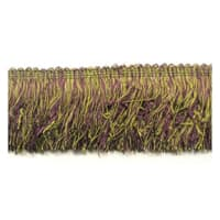 Chenille Cut Fringe Trim Plum Multi (Precut, 10 Yards)