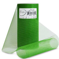 "Shiny 6"" Tulle (Spool, 25 Yards) Emerald"