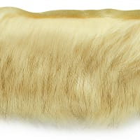 Faux Fox Fur Trim Natural (Precut, 10 Yards)