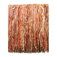 "7"" Chenille Cut Fringe Trim Rust Multi (Precut, 10 Yards)"