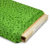 """54"""" Glitter Dots Polyester Tulle Fabric (Bolt, 25 Yards) Green"""