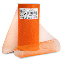 "Shiny 6"" Tulle (Spool, 25 Yards) Orange"