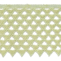 "Extended Magdalena Lace Trim 3"" Ivory (Precut, 14 Yards)"