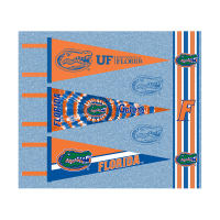 NCAA Florida Gators Pennants (Set of 3 Unique Poly Felt Designs)