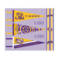 NCAA Louisiana State Tigers Pennants (Set of 3 Unique Poly Felt Designs)