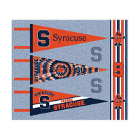 NCAA University of Syracuse Pennants (Set of 3 Unique  Poly Felt Designs)