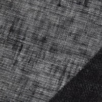 100% European Linen Scrim Black