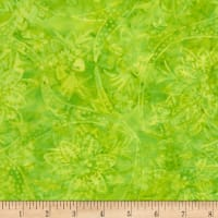 Timeless Treasures Tonga Batik Mandarin Grove Holiday Lime