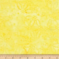 Timeless Treasures Tonga Batik Mandarin Grove Chain Medallion Lemon